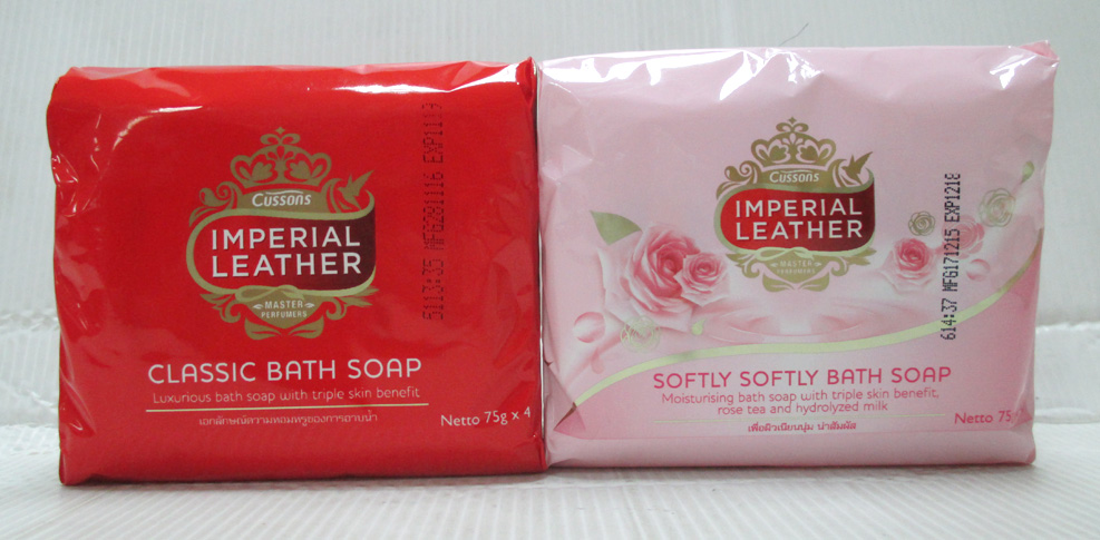 Cusson Imperial Leather soap 75gx4