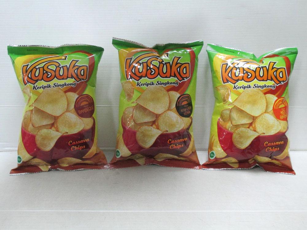 Kusuka Cassava Chips 60gr x 30pcs