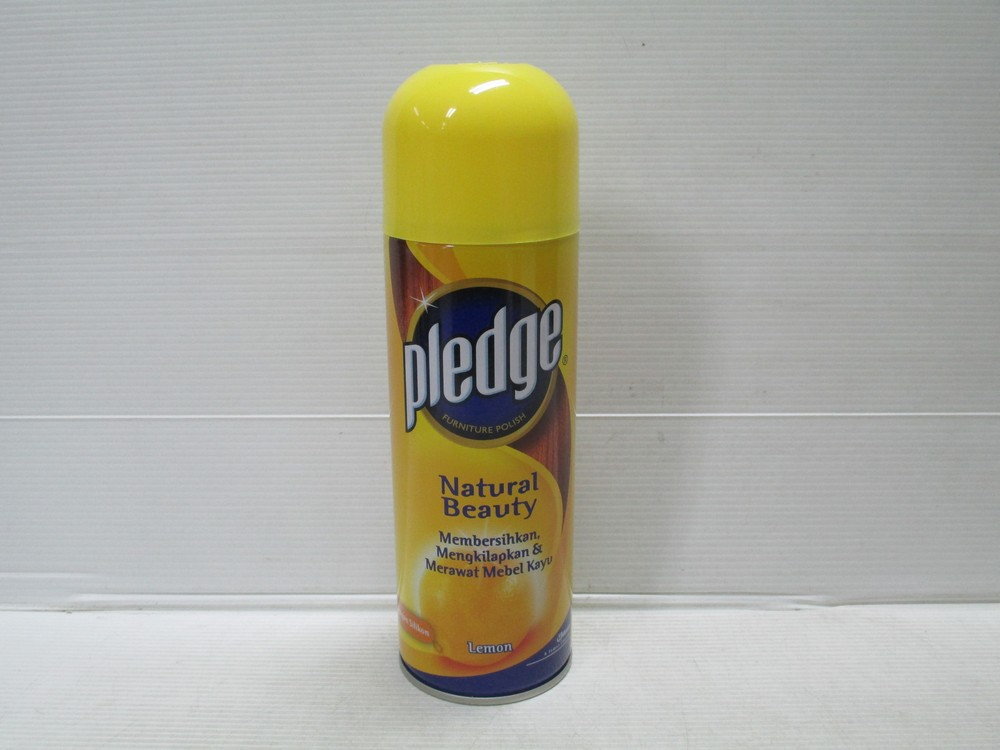 Pledge Furniture Polish Lemon 350ml x 12pcs