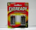 Eveready Battery 1212 AAA 4's x 216card