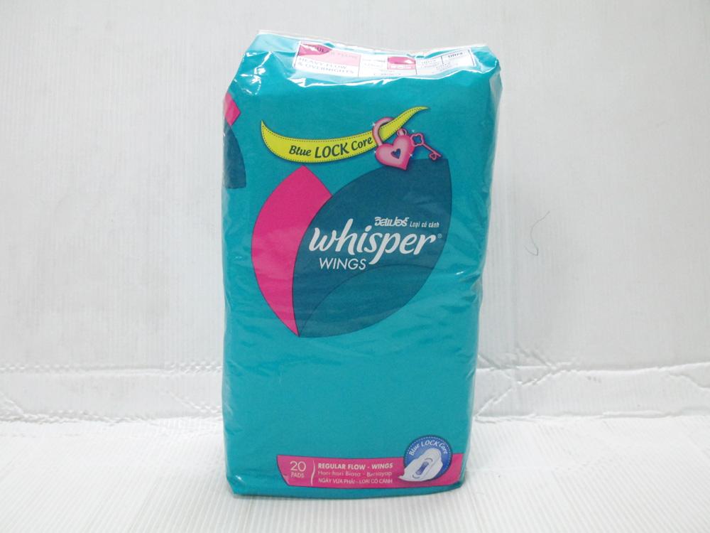 Whisper 20 pads