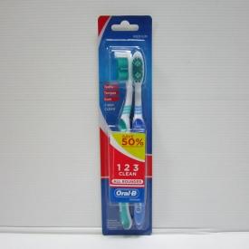Oral-B All Rounder 123 Medium 8tray x 12pcs x 2's