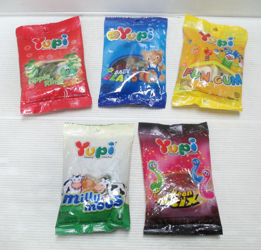Yupi Gummy Candies Bag