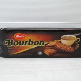 Monde Bourbon Chocolate Filling Biscuits 150gr x 36pcs