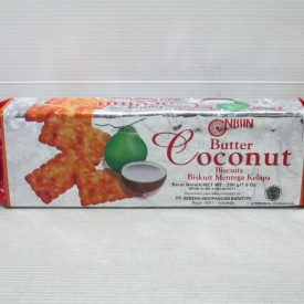 Nissin Butter Coconut Biscuits 200gr x 24pcs