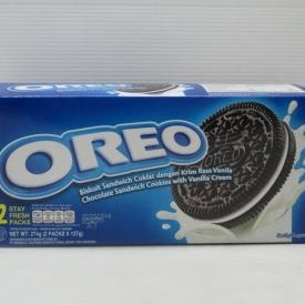 Oreo Biscuit Vanilla Cream 274gr x 12box