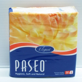 PAseo Tissue Napkin Cocktail 60pack x 50sheet x 2ply